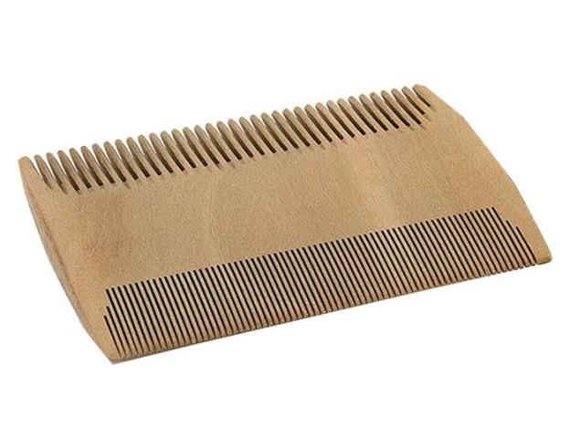 peigne fin anti-poux en bois écologique