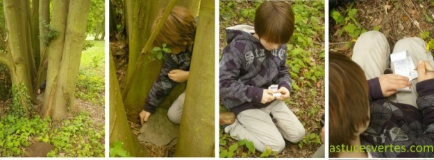 geocaching activité écolo