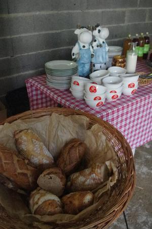 Fête du lait bio 2015 Petit déjeuner bio à la ferme