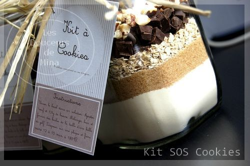 kit SOS cookies
