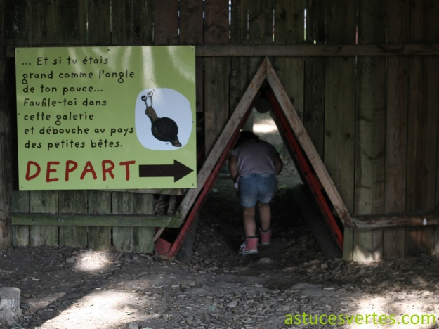 Départ du sentier des petites bêtes