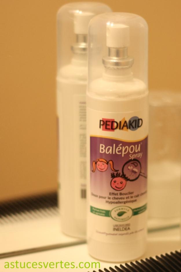 spray répulsif contre les poux, anti-poux naturel