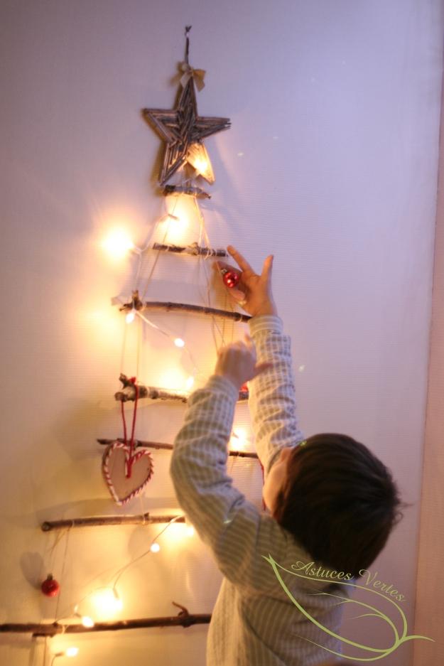 sapin de Noël DIY