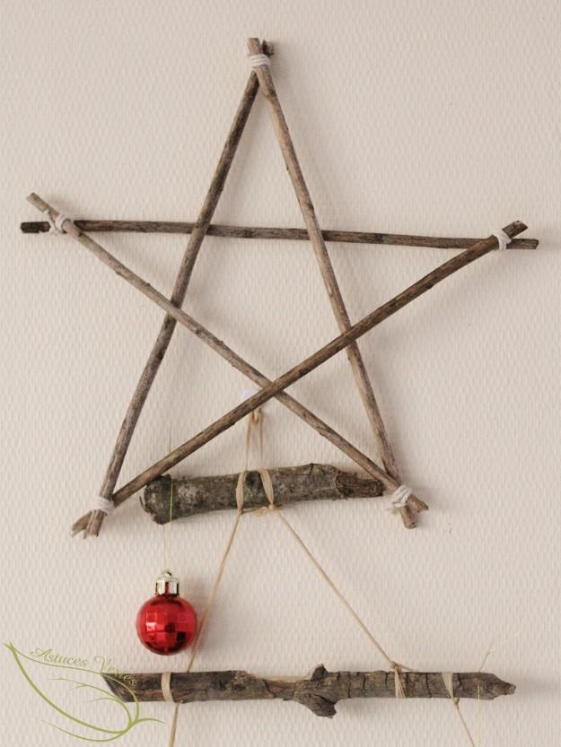 DIY Noël : fabriquer une étoile en bois