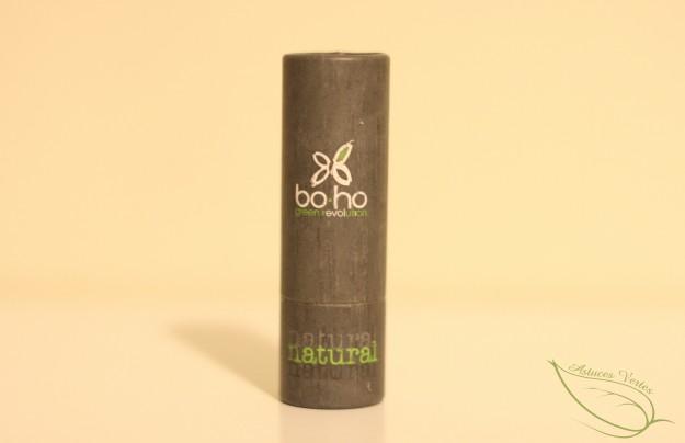avis rouge à lèvre bio Boho Green et Avril