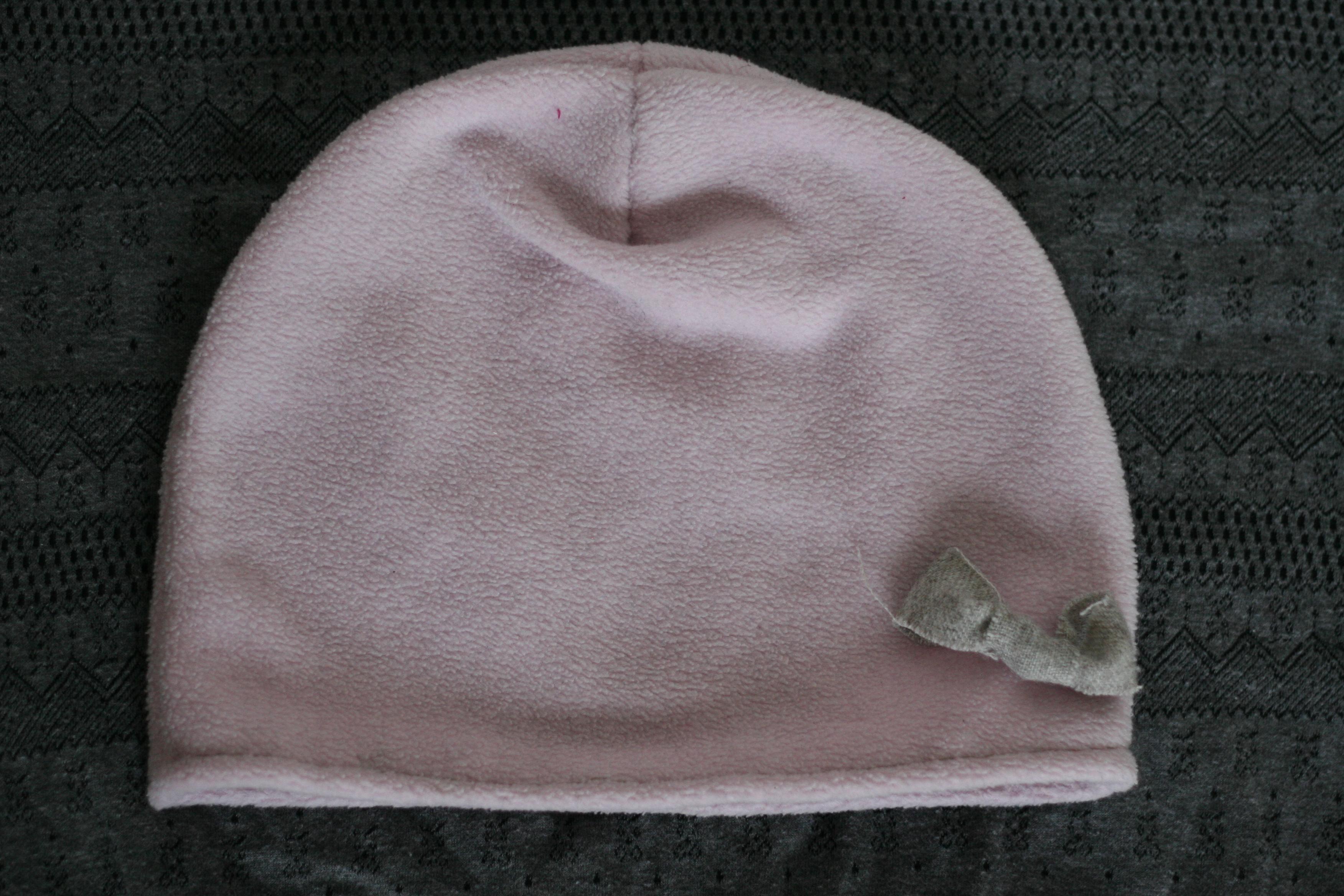 Coudre un bonnet en polaire facile