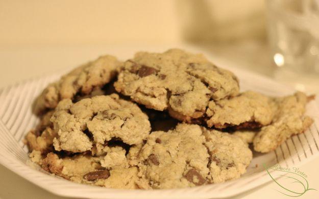 recette facile cookies au chocolat au lait