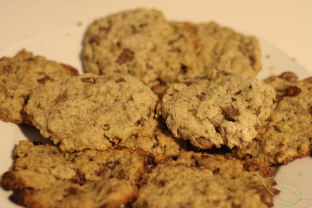 Recette des cookies vegan au chocolat bio