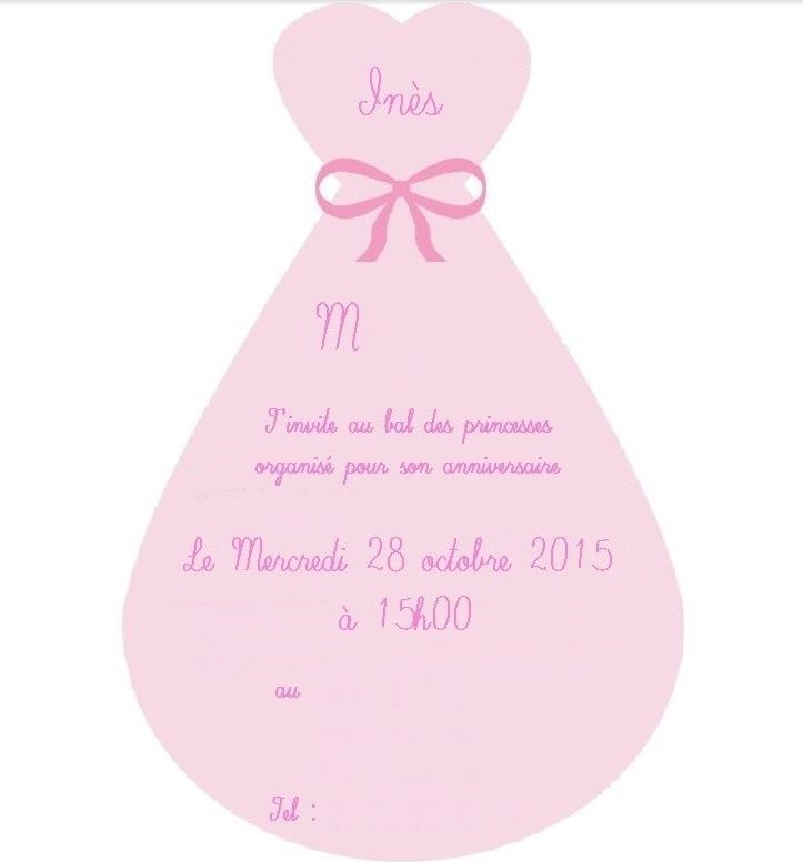 DIY carte invitation anniversaire de princesse   Astuces Vertes