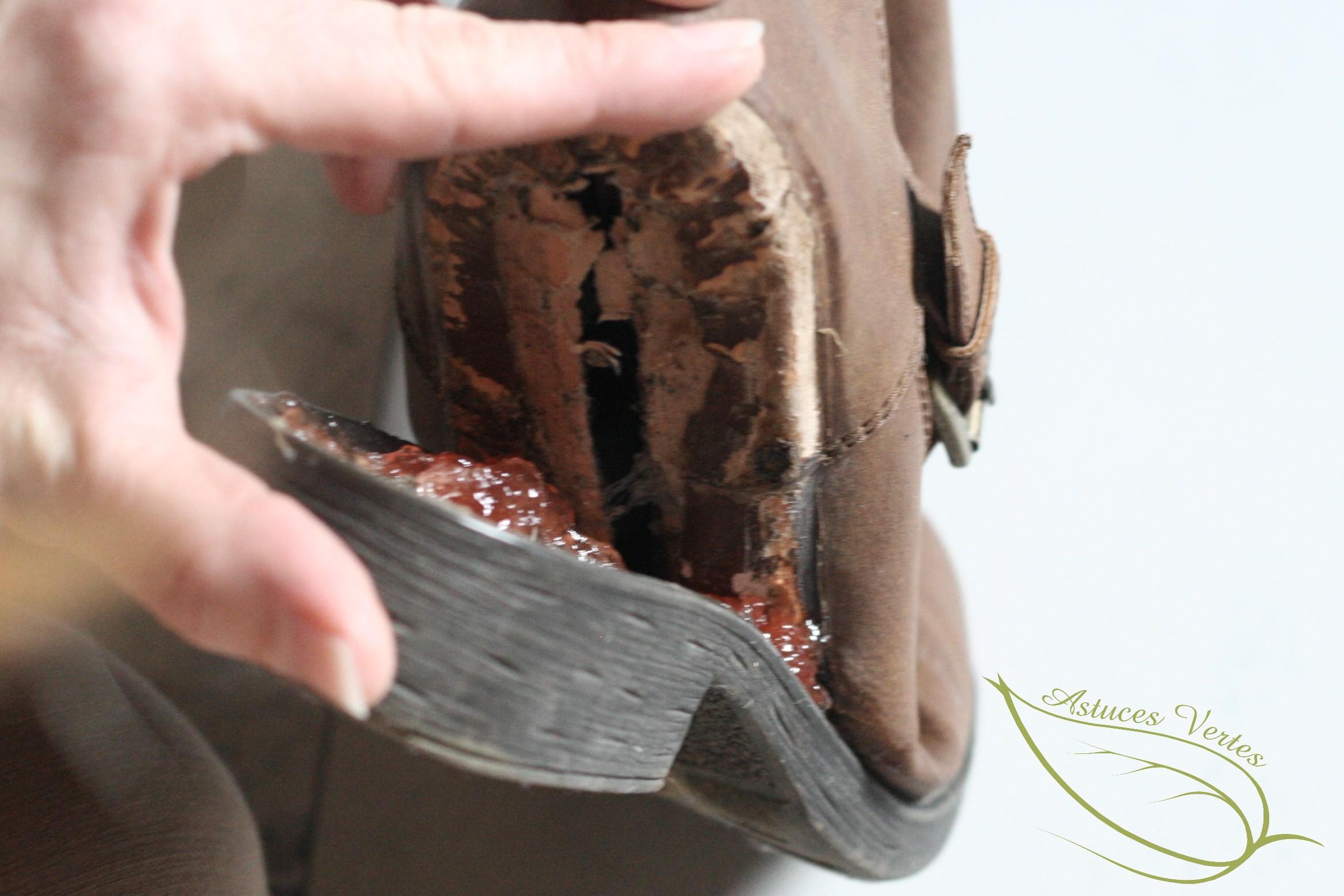 Efficacement Semelles Qui De Réparer Chaussures Des Naturellement Et F0nn4vE