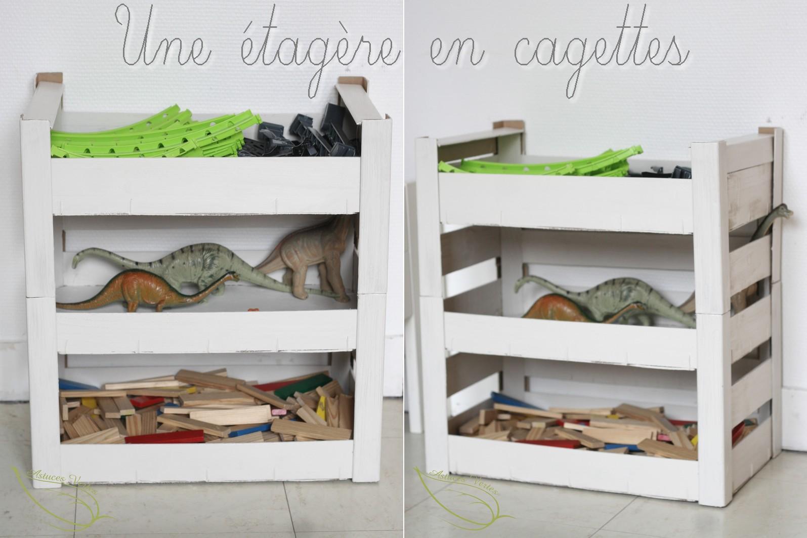etagere cagette dco chambre deco cagette bois ordinary. Black Bedroom Furniture Sets. Home Design Ideas