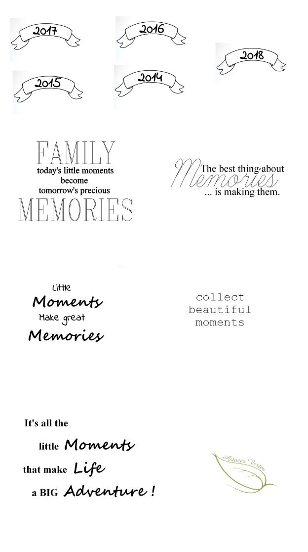pots à souvenirs
