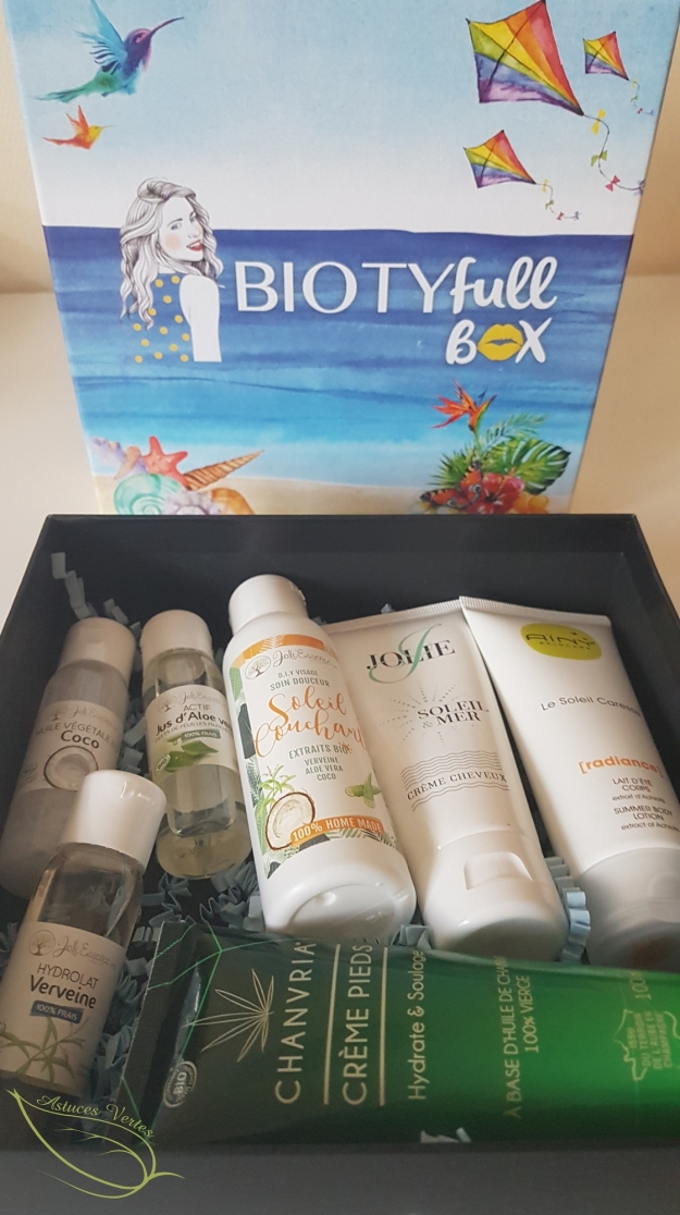 Review Biotyfull box août 2018