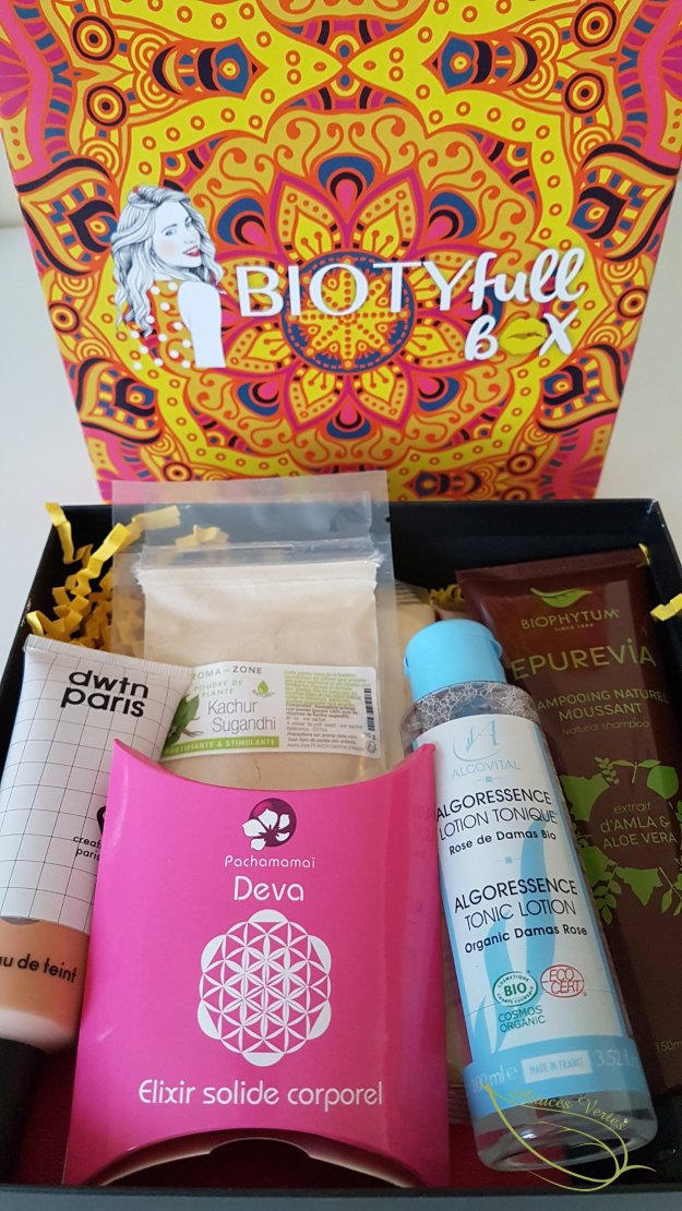 Review Biotyfull box septembre 2018
